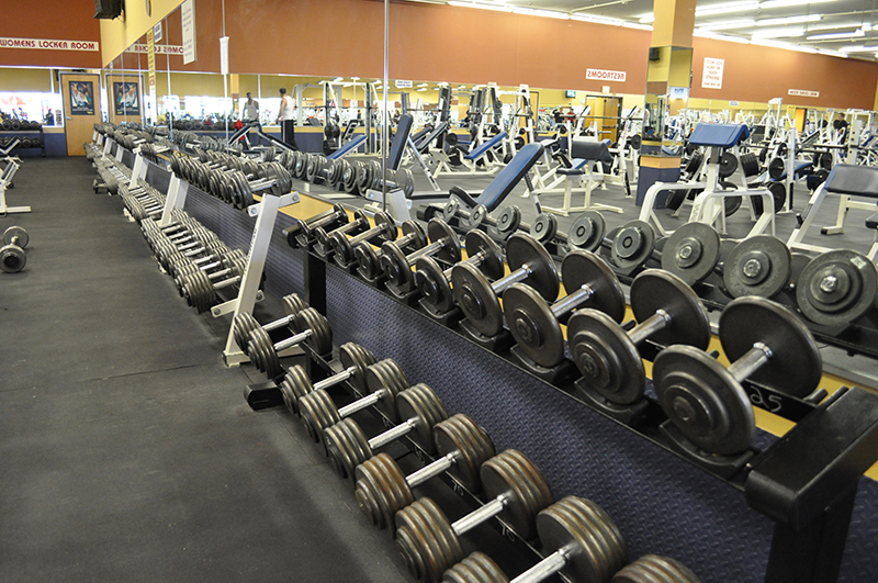 personal training in gyms with great equipment